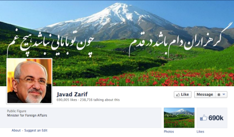 Javad-Zarif-on-Facebook